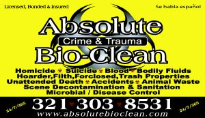 Blood Cleaning Company Orlando